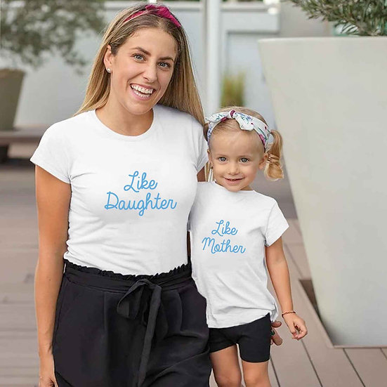 Like Mother And Like Daughter (Combo of 2 T-shirts)