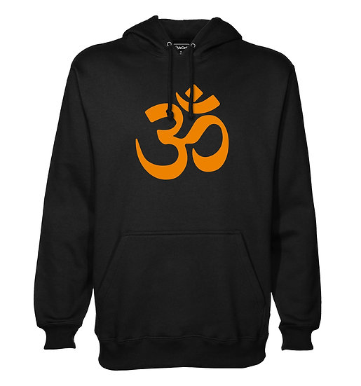 Om Printed Designed Cotton Hoodie or Sweatshirts for Men