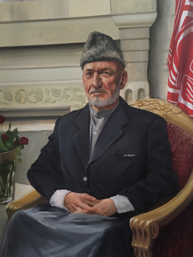 Kingsley as Karzai 4'