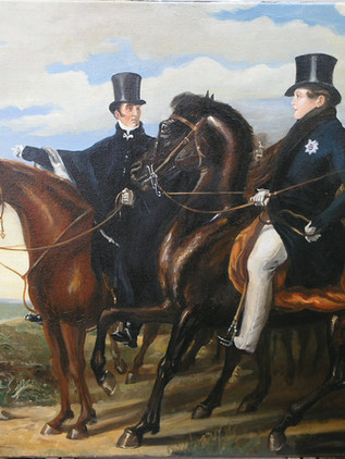 Wellington on horse  3'