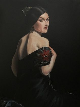 lady in black 4'