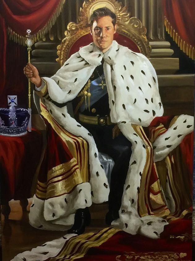 Royal portrait 7'
