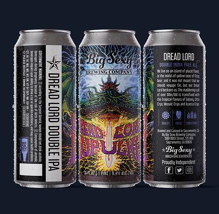 Dreadlord Lupuhlu DIPA 4 pack 16 ounce