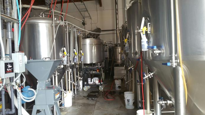 Sacramento production Craft brewery
