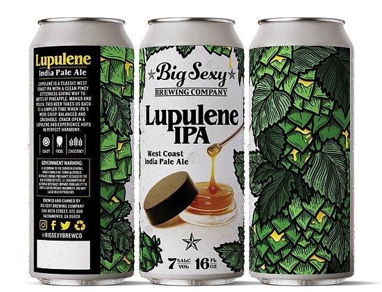 Lupulene IPA  4 pack 16 ounce
