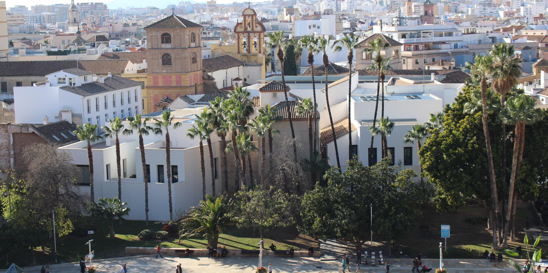 Malaga - city landscape