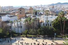 Malaga city in Spain