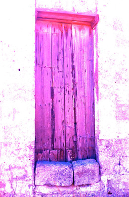Wall Solutions - Artistic Violet Ancient