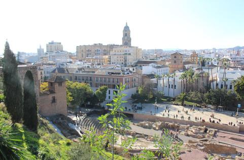 Malaga centro foto
