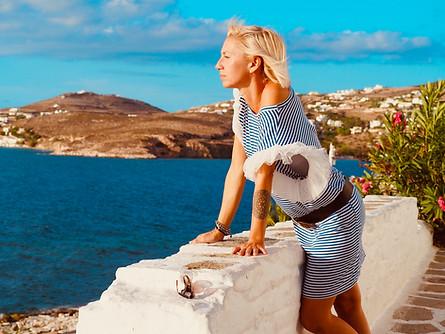 Paros - Paroikia Cyclades Island photo shooting 2020