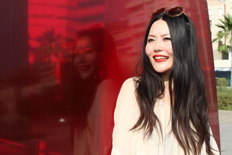 Chinese travel blogger