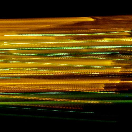 40x40 Artistic - Linee colori giallo-ver