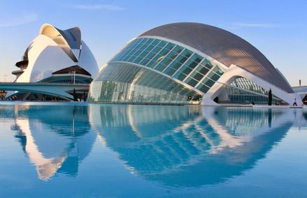 Valencia city of art and sciences
