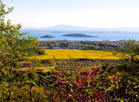Villa in Italy amazing lake view on Trasimeno