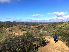 Hiking in the Algarve region south of Portugal