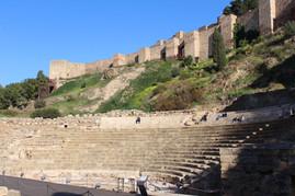Malaga centre anfiteatro romano