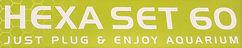 Hexa set 60 AQUAEL logo | Fyns Akvarie Centrum