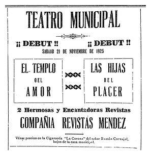 teatro municipal, teatro en Colombia