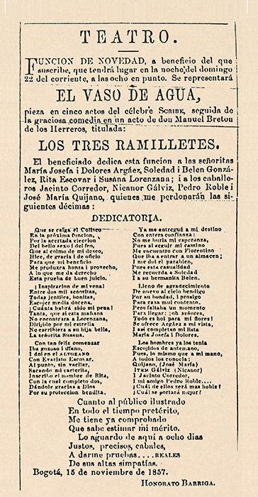 teatro colombiano, museartes, historia del teatro, teatro