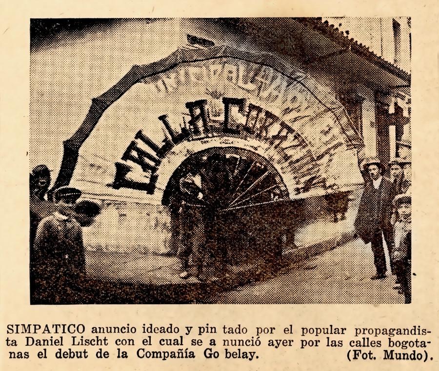 1926. Velada de caridad en el Teatro Garnica de Bucaramanga. (Archivo de B. Rugeles).