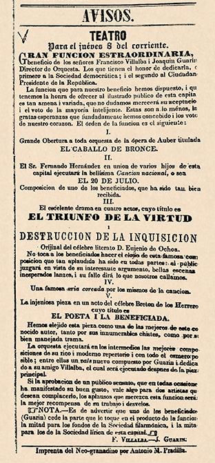 """""""El Suramericano"""" (Bogotá), núm. 16, 4 de noviembre de 1849, p. 4."""