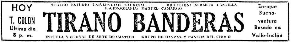 teatro colombiano, museartes, enrique buenaventura