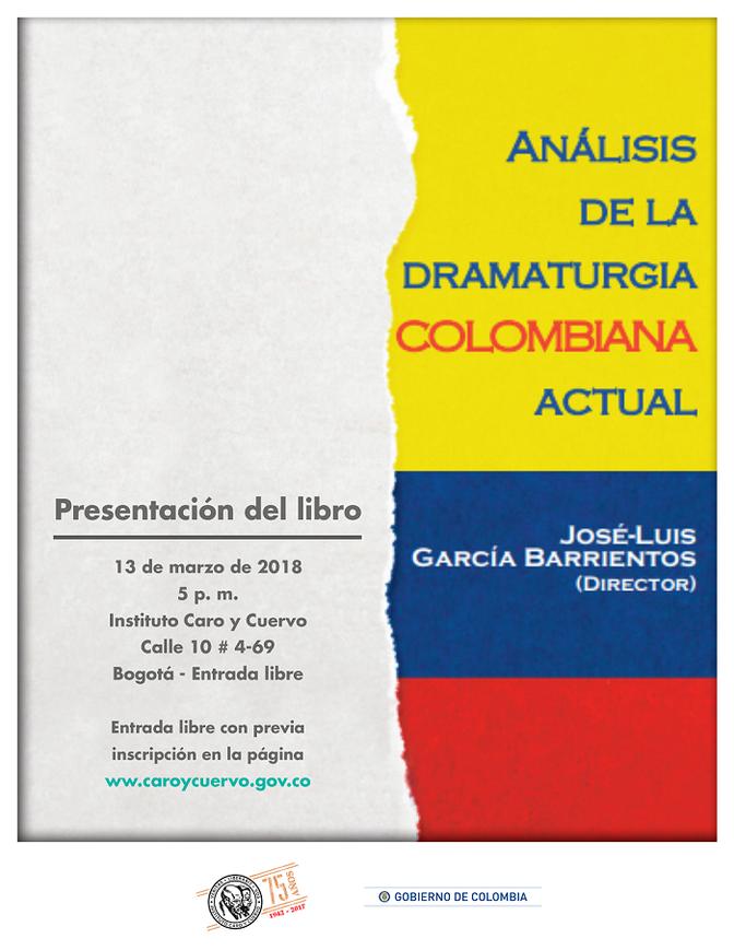 En la mira la dramaturgia colombiana actual