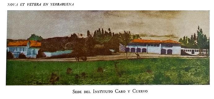 Instituto Caro y Cuervo. Hacienda de Yerbabuena. museartes. teatro colombiano. Fernando González Cajiao.