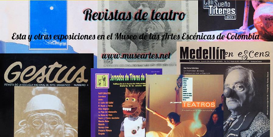 Exposición: Revistas de teatro