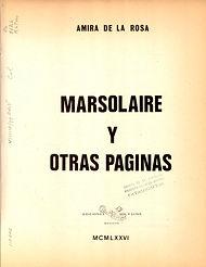 """""""Marsolaire y otras páginas"""""""