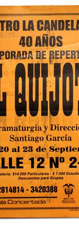 Teatro La Candelaria. 40 años. Temporada de repertorio (Centro de Documentación del teatro).