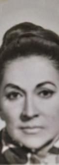 Sofía de Moreno, foto tomada alrededor de 1960.