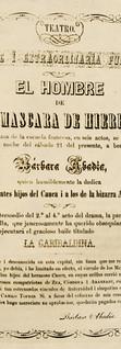 1864. Función a beneficio de la actriz colombiana Bárbara Abadía. Compañía Dramática Nacional. (Archivo José Ignacio Perdomo. Biblioteca Luis-Ángel Arango).