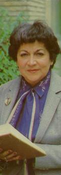 Foto de Sofía de Moreno en 1985, cuando tenía 60 años.