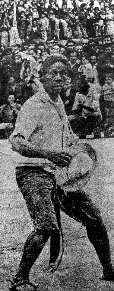 """Filiberto Díaz, actor de """"Rambao"""". Tomado del libro: González Cajiao, Fernando. """"Historia del teatro en Colombia"""" (1986), pág. 401."""