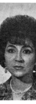 Foto de Sofía de Moreno, en 1966.