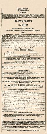 """""""El Neogranadino"""" (Bogotá), núm. 186, 12 de diciembre de 1851, p. 416."""