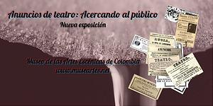 Anuncios teatrales en Colombia