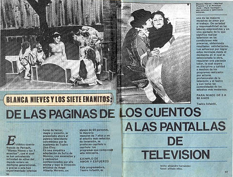 Blanca Nieves y los siete enanitos