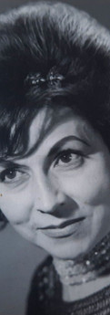 Foto de Sofía de Moreno, foto tomada alrededor de 1960-1966.