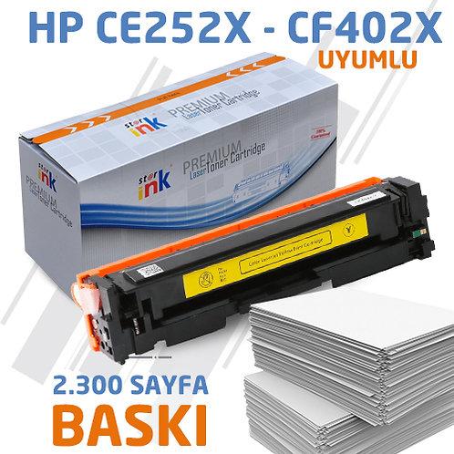 Starink CE252X ; Muadil Chipli Sarı Toner