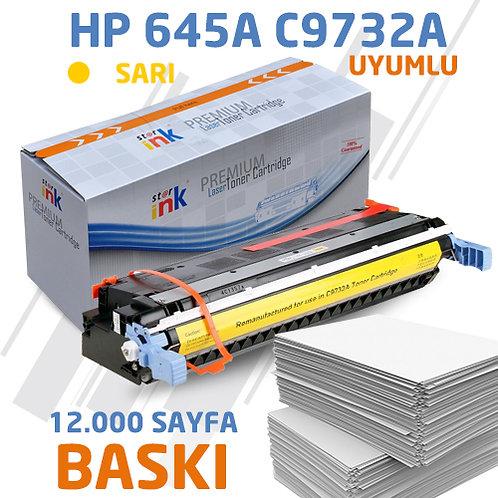 Starink C9732A ; Muadil Chipli Sarı Toner