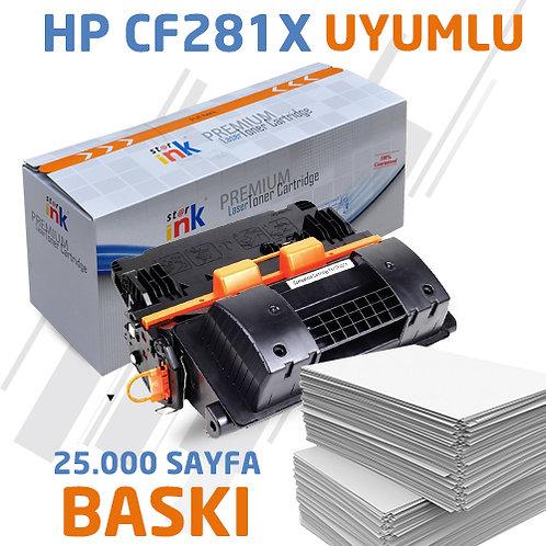 Starink CF281X ; Muadil Chipli Siyah Toner