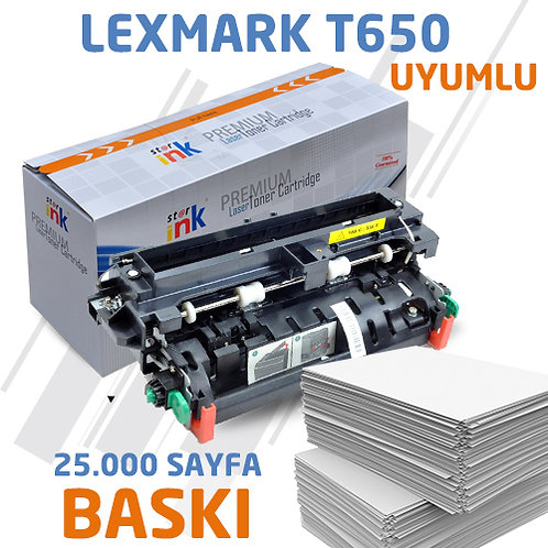 Starink T650 ; Muadil With Universal Chip Siyah Toner