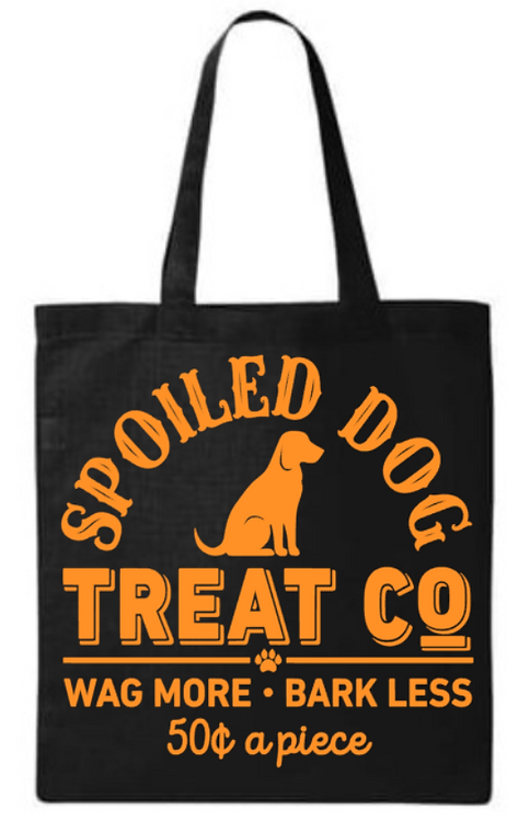 Halloween Spoiled Dog Treat Co. Southern Paws Tote Bag