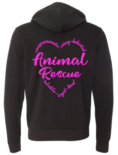 Southern Paws Ultra Soft Light Weight Animal Rescue Love Hoodie