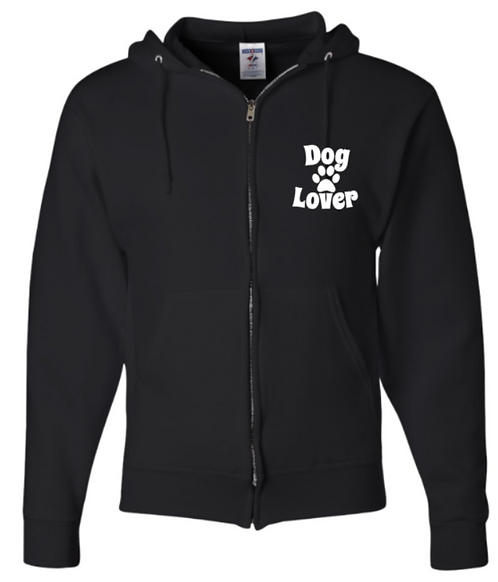 Southern Paws Zip Up Dog Lover Hoodie