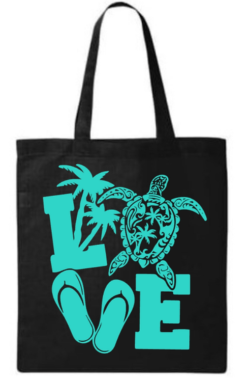 Southern Paws Beach Love Small Tote
