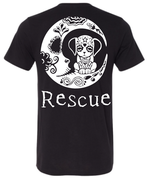 Southern Paws Dog Moon Rescue T-Shirt