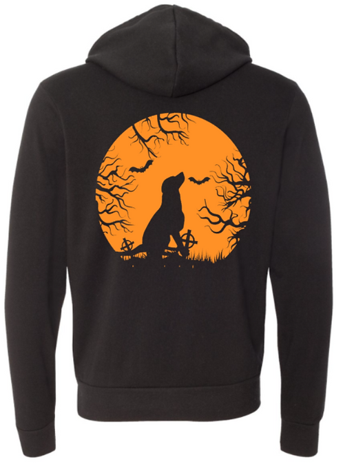 Halloween Southern Paws Ultra Soft Light Weight Hoodie